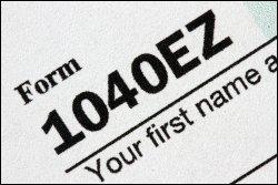 1040ez file tax return
