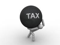 city tax burden