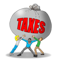 everyone pays taxes