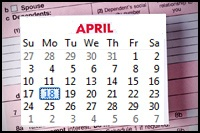 federal tax filing deadline today