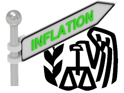 irs inflation adjustments for 2013