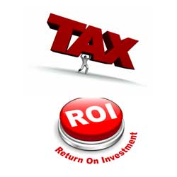 roi investment on taxes