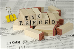 2015 tax refund irs