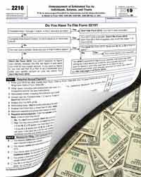 form 2210 taxes