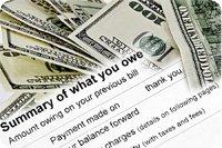 account summary of taxes owed