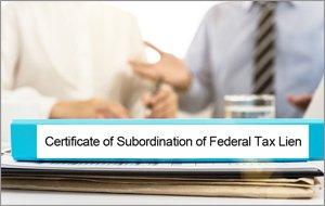 federal tax lien subordination